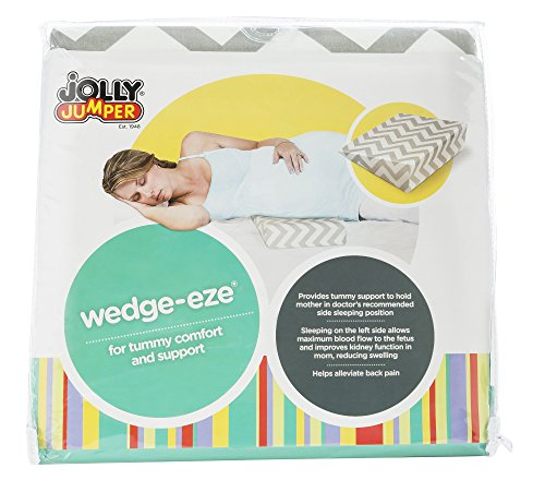 Jolly Jumper Wedge-Eze Maternity Support Wedge For Comfort & Support in a Variety of Positions