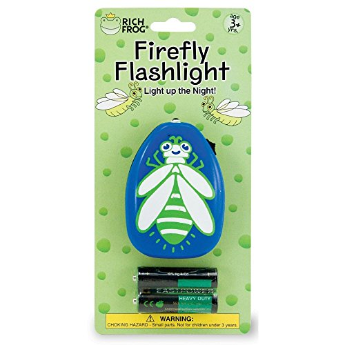 Rich Frog Firefly Flashlight with Batteries