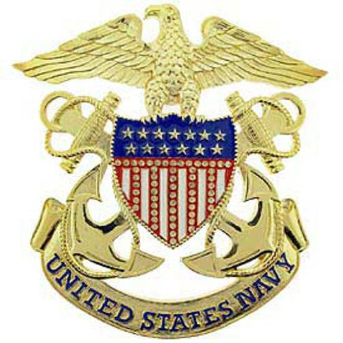 U.S. Navy Medallion 6 1/4