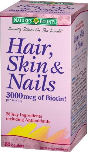 Nature's Bounty Hair, Skin & Nails, 60 caplets