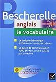 Anglais : Le vocabulaire