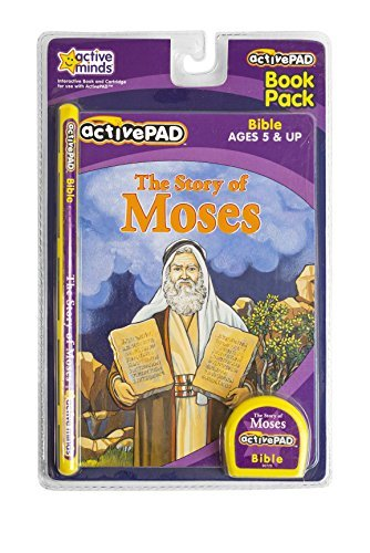 Active Pad Story of Moses Interactive Book & Cartridge