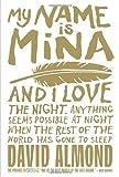 David Almond My Name Is Mina