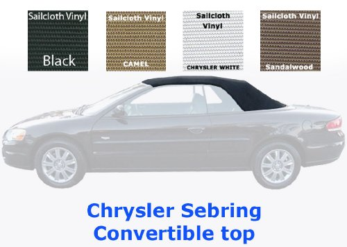 sebring convertible top and vinyl window color choice. Black Bedroom Furniture Sets. Home Design Ideas