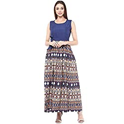 Bhama Couture Multicolor Sleeveless Maxi dress X-Small