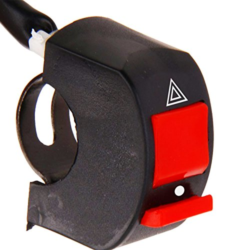 AllExtreme Universal Handlebar Mounting Switch DC 12V for Motorbike Fog Lamp Headlight Electrical System