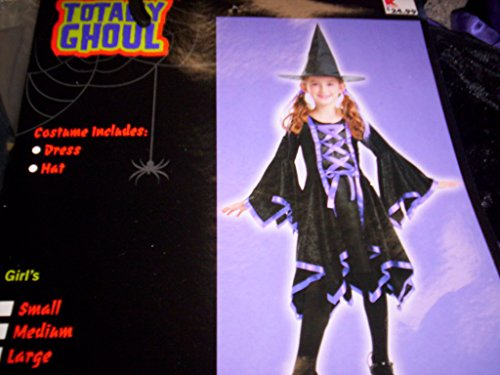 Dazzling Witch Child Costume - Size Large