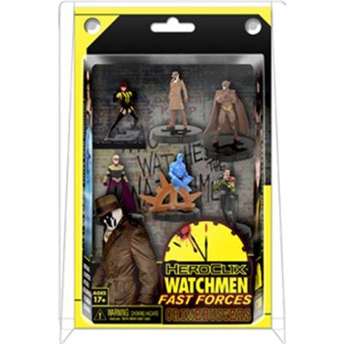 Imagen de DC Heroclix Watchmen 2011 Fast Forces Deluxe Juego Starter Incluye 6 figuras