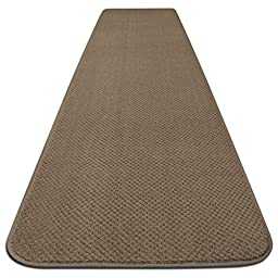 Skid-resistant Carpet Runner - Camel Tan - 6 Ft. X 27 In. - Many Other Sizes to Choose From