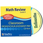 NewPath Learning Math Interactive Whiteboard CD-ROM, Site License, Grade 8-10