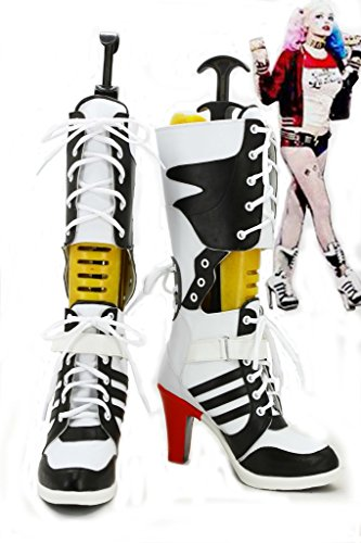Batman Suicide Squad Harley Quinn Cosplay Shoes Boots