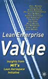 Lean Enterprise Value: Insights from MIT's Lean Aerospace Initiative (0333976975) by Murman, Earll