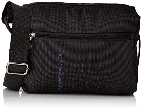 Mandarina Duck Md20 15116tv8, Borsa a tracolla donna , Noir (Black 651) (Nero) - 15116tv8_Black 651
