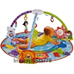2in1 BABY PLAY MAT BLUE ACTIVITY GYM...