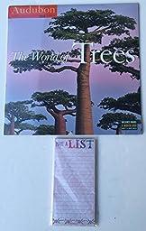 2 Item 2016 Calendar Bundle - 1-2016 Audubon The World of Trees and 1-Magnetic Bloc Note Pads
