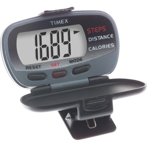 TIMEX CORPORATION – TIMEX IRONMAN PEDOMETER W/ CALORIES BURNED