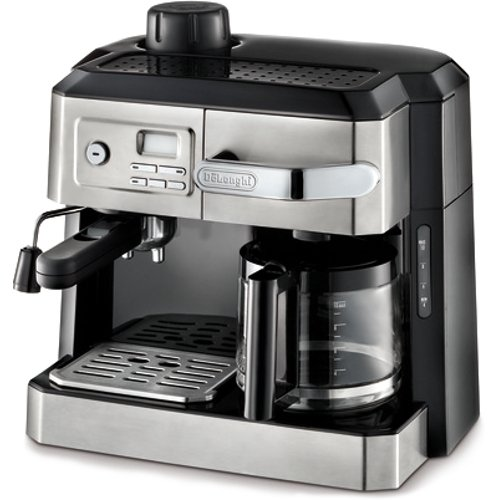 DeLonghi BC0330T Combination Drip Coffee and Espresso Machine image
