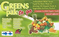 Trace Minerals Research Greens Pak Berry -- 30 Packets