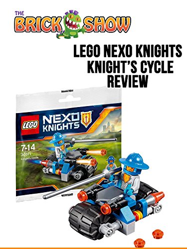 LEGO Nexo Knights Knights Cycle Review