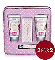 Floral Collection Rose Hand & Nail Set