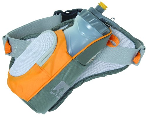 Nathan Nathan - Elite 1 Bottle Hydration Pak Grey/Silver/Orange