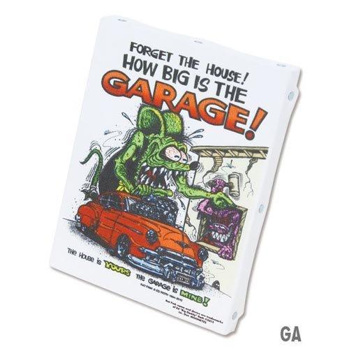 ラットフィンク アートキャンバス Mサイズ RatFink Art Canvas M RAF453GA GARAGE