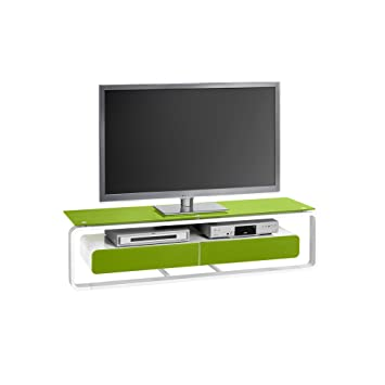 TV-rack color concept color: verde