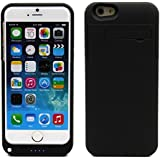 "4800mAh Kickstand Rechargeable External Backup Spare Battery Power Charger Case Cover For 5.5"" iPhone6 Plus (4800mah black for iphone6 plus)"