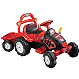 Lil RiderTM Battery Powered Farm N Fun Tractor & Trailer