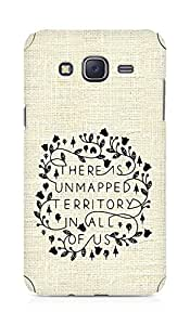 AMEZ there is unmapped territory in all of us Back Cover For Samsung Galaxy J5