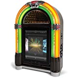 Ion Audio Retro Rocker Jukebox Speaker Dock for iPad, iPhone and iPod (Certified Refurbished)