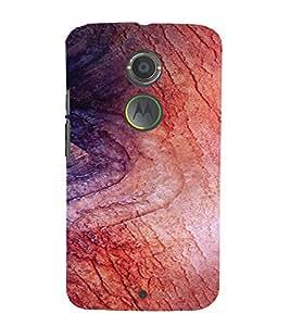 PrintVisa Wooden Design 3D Hard Polycarbonate Designer Back Case Cover for Motorola Moto X2
