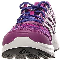 adidas Performance Duramo 6 K Running Shoe (Little Kid/Big Kid), Flash Pink/White/Night Flash, 12.5 M US Little Kid