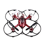 Quadpro® Hubsan X4 Propeller Prop Guard Which Replacement Props Blades Protection Ring Compatible H107c H107d Quadcopter Nano Drone Black 5 Sets Propellers with 1 Pcs Protection Guard.