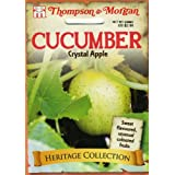 Thompson & Morgan 4953 Heirloom Cucumber Crystal Apple Seed Packet