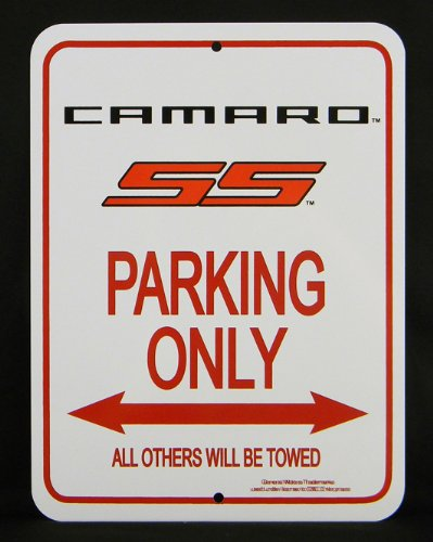 Camaro SS Parking Only Sign (5th Generation Camaro Accessories compare prices)