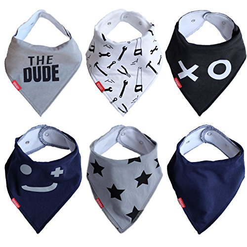 baby-bandana-drool-bibs-6-pack-the-dude-gift-set-for-boy-by-oak-and-navy-teething-and-drooling