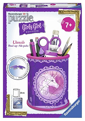 Ravensburger-12074-Puzzle-Girly-Girl-Pot-Crayons-Licorne-54-pices