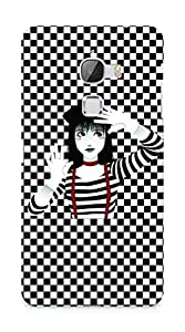 Amez designer printed 3d premium high quality back case cover for LeEco Letv Le Max (Beautiful Girl)
