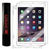 Skinomi® TechSkin - Apple iPad Air 2 Screen Protector (6th Generation) (2014) + Full Body Skin Protector with Free Lifetime Replacement Warranty / Front & Back Premium HD Clear Film / Ultra High Definition Invisible and Anti-Bubble Crystal Shield - Retail Packaging