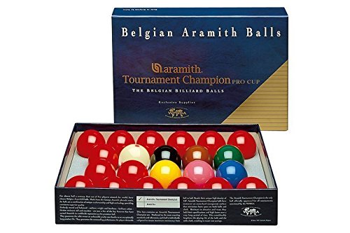 CueStix BBAEPC Aramith Tournament Snooker Set with Pro Cup Cue Ball