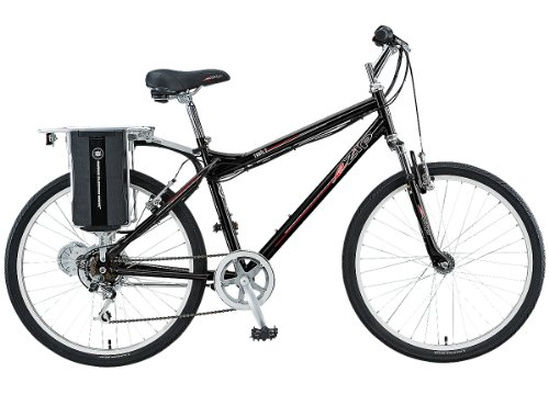 EZIP Trailz Diamond Frame Electric Bicycle - Black