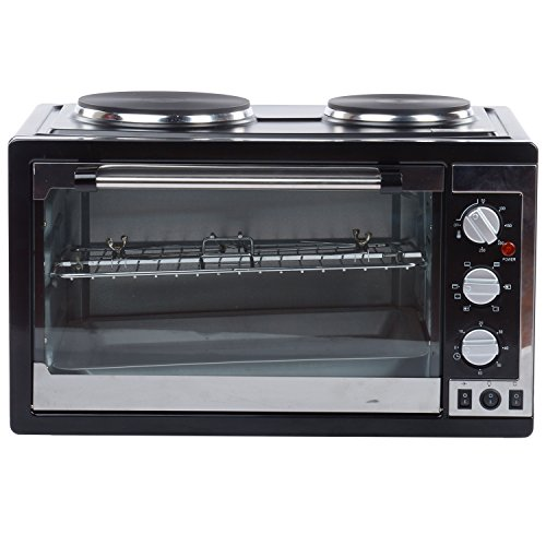 Adishwar 5-Litres Grill & Convection Microwave Oven (Black)