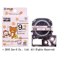 KING JIM 「テプラ」PROテープカートリッジ(リラックマラベル) いちご(ピンク) 9mm SGR9BP