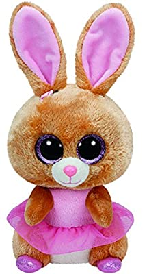 "Ty Beanie Boo BUDDY Twinkle Toes the Bunny - 9"" Medium by Ty"