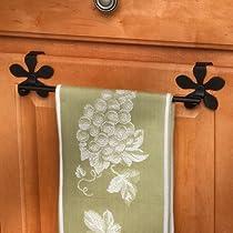 Spectrum Flower Over the Cabinet Door Towel Bar