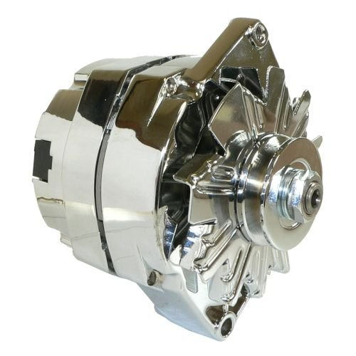 DB Electrical ADR0335-C Alternator (For Chrome General Motors 110 Amp One 1-Wire 65-85) (Chrome Alternators compare prices)