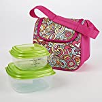 Morgan Kids' Lunch Bag Kit with Fresh Selects Set (Peace Hearts Stars)