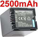 Neewer Cga-Du21 Battery For Panasonic Camcorders Nv-Gs10B Gs120K Gs200K