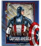 """Marvel Captain America, The First Avenger, Micro Raschel Plush Throw Blanket - 50"""" x 60"""""""